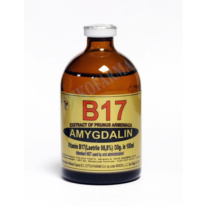 ВИТАМИН B17  (Amygdalin Standart) для Ректального ввода (микро-клизмы)  100 мл
