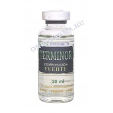 ТЕРМИНОР / TERMINOR FUERTE 10 х 20 ml. (FarmMex, Мексика)